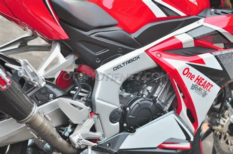 Undertail Cbr 250 Rr Undertail New Cbr250rr Slancar Cbr 250 Rr pasang deltabox all new honda cbr250rr pakai rangka palsu