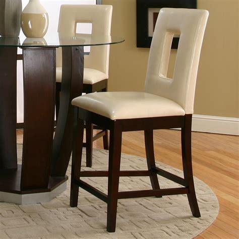 modern furniture inc cramco inc contemporary design emerson ivory vinyl cut