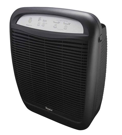 review whirlpool whispure air purifier clean breathing