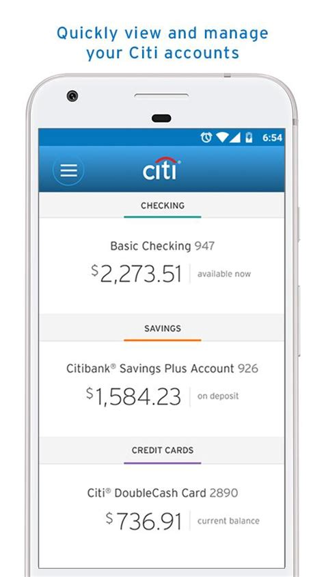 citibank mobile citi mobile 174 android apps on play