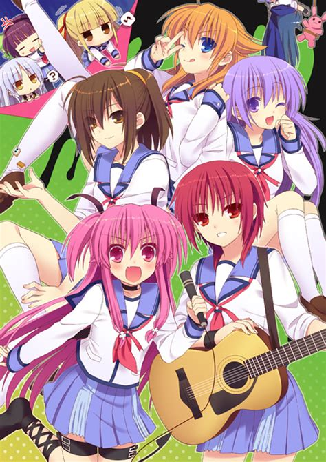 twelve moments in anime 2010 8 angel beats the