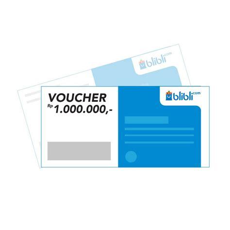 blibli about jual blibli gift card rp 1 000 000 e voucher online