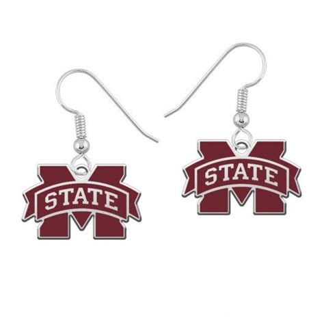 mississippi state colors 45 best mississippi state bulldogs jewelry images on