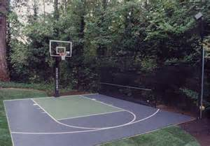Exle Design Backyard Basketball Court Home Basketball Court Design