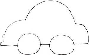 Printable Car Template by Felt Board Shape City With Houses Cars Where
