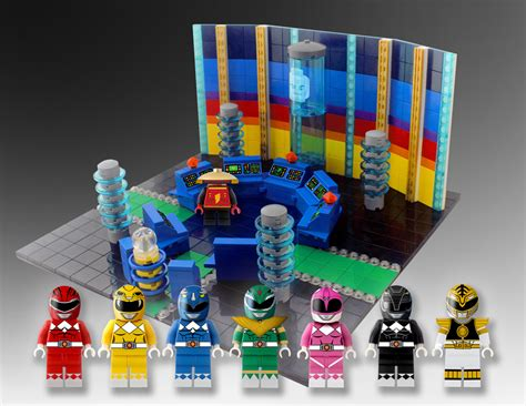 speelgoed lego lego power rangers concept the awesomer
