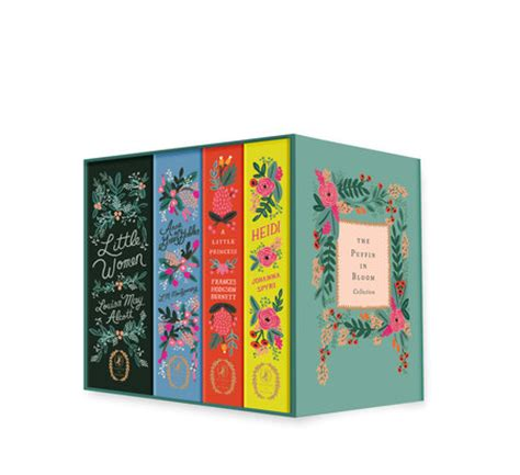 bloom books the puffin in bloom collection penguin gift guide