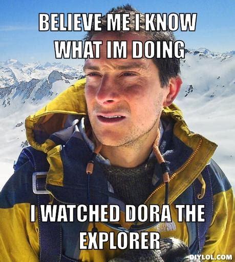 Bear Grylls Meme Generator - reflective memes image memes at relatably com