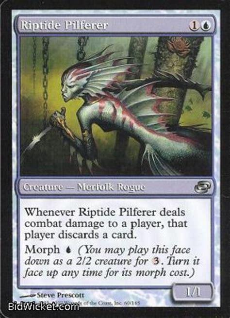 Mtg Magic The Gathering Benalish Commander Planar Chaos Singles riptide pilferer