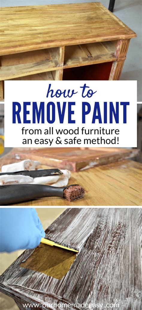 How To Remove Paint From Upholstery how to easily remove paint varnish from furniture