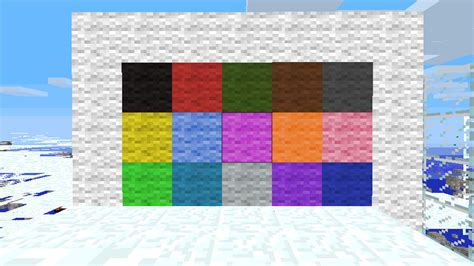 wool colors minecraft fudgeboys color texture pack resource packs mapping