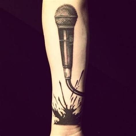 microphone tattoo small the 25 best ideas about microphone tattoo on pinterest