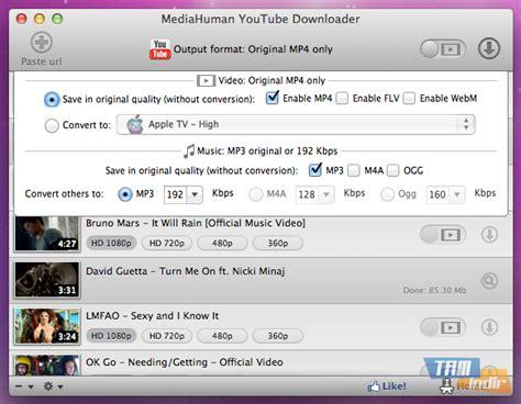 download youtube mp3 mediahuman mediahuman youtube downloader indir youtube dan video ve