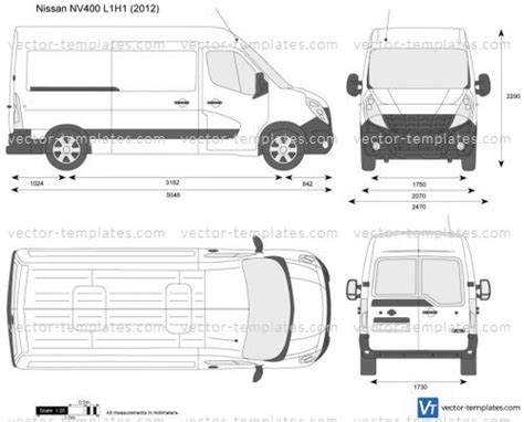 Templates Cars Nissan Nissan Nv400 L1h1 Nissan Nv200 Template