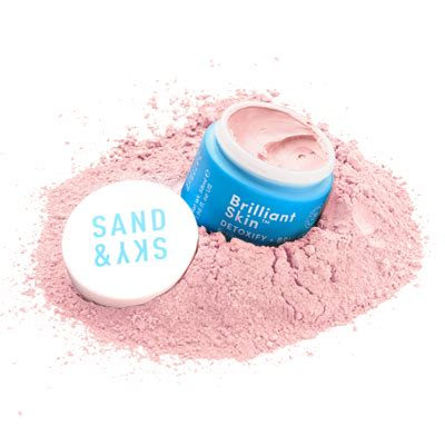 Pink Clay Mask sand sky brilliant skin purifying pink clay mask
