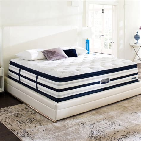 California King Mattress Set by Beautyrest Recharge World Class Sea Glen Luxury Firm