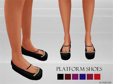 sims 4 platform heels puresim s platform shoes