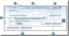 bonifico da posta a tempi tempi incasso bonifico e assegno fissati per legge