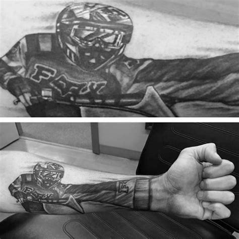 motocross tattoos for men 70 motocross tattoos for dirt bike design ideas