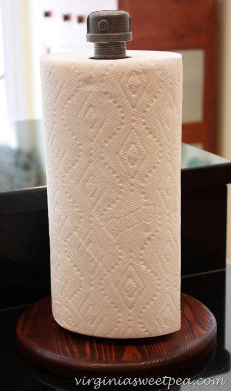 diy paper towel dispenser diy industrial paper towel holder sweet pea