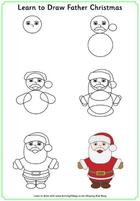 christmas pictures step by step drawings step by step drawing tutorials
