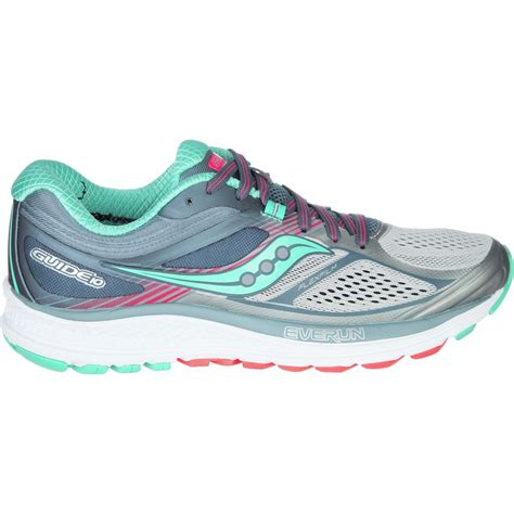 best stability running shoes womens saucony guide 10 light stability running shoe s
