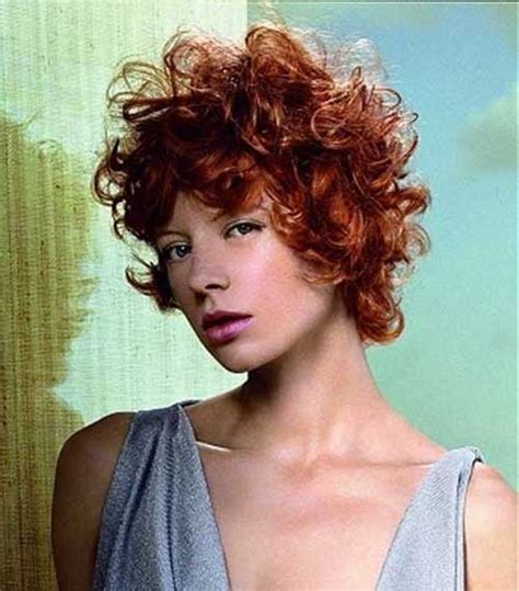 haircuts for curly red hair 25 cool short red curly hair short hairstyles haircuts