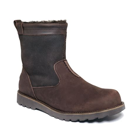 emu shoes emu shoes degarra boots in brown for chocolate lyst