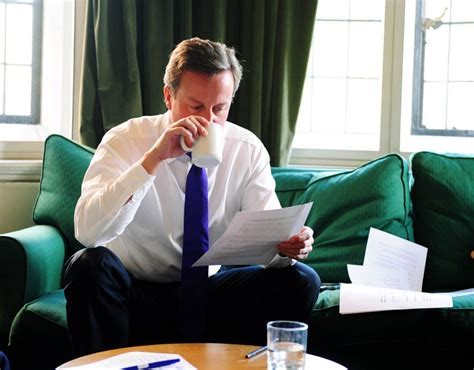 Background Check Office Cameron Checks A Speech On Europe In His Office David Cameron S Most Candid Pictures