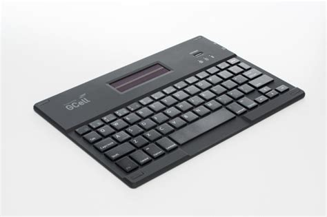 Solar Powered Keyboard by Gcell Solar Power Keyboard Folio Ebuyer