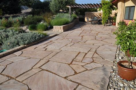 large flagstone pavers