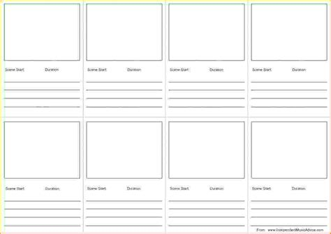 format storyboard sle video storyboard template video production