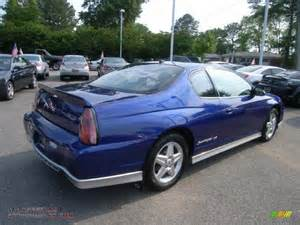 2005 chevrolet monte carlo supercharged ss in laser blue