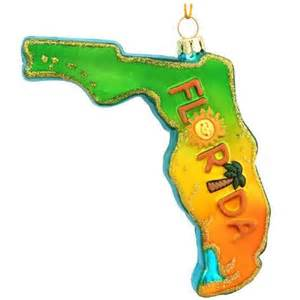 florida formed glass ornament bronner s christmas wonderland