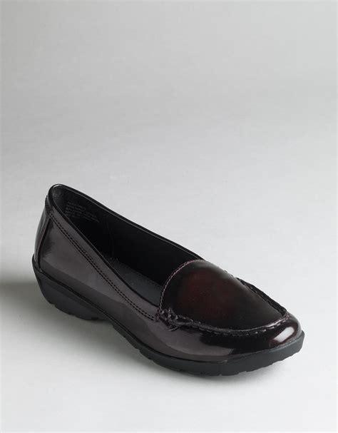 Patrice Loafers Black Sepatu Wanita Loafers ak klein patrice loafers in black burgundy patent lyst