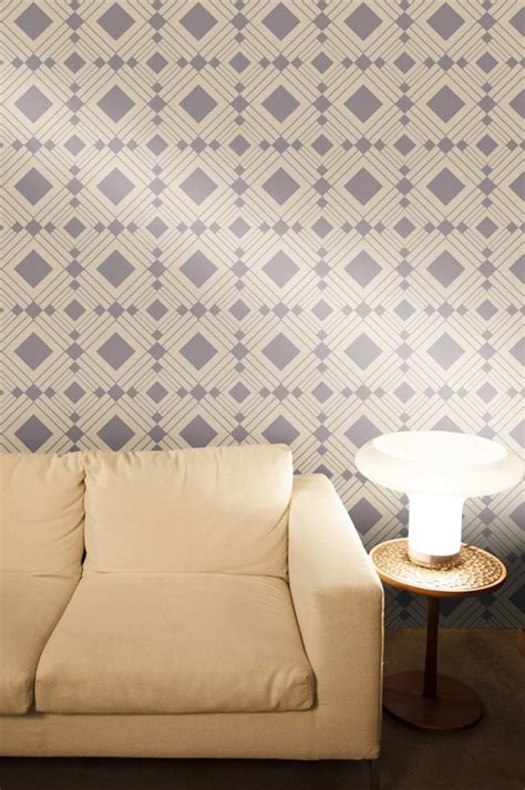 tempaper wallpaper diamond taupe removable wallpaper by tempaper