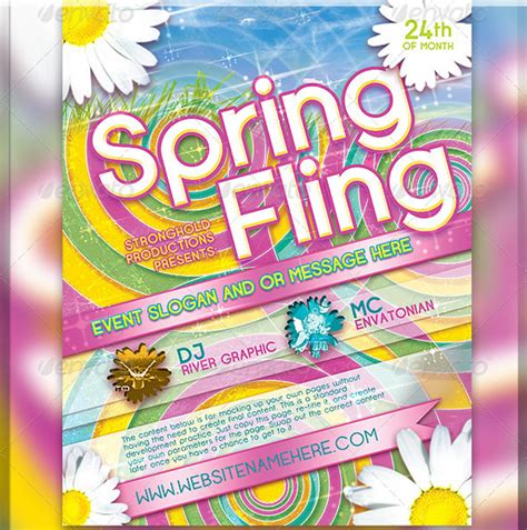 exiucu biz spring flyer template