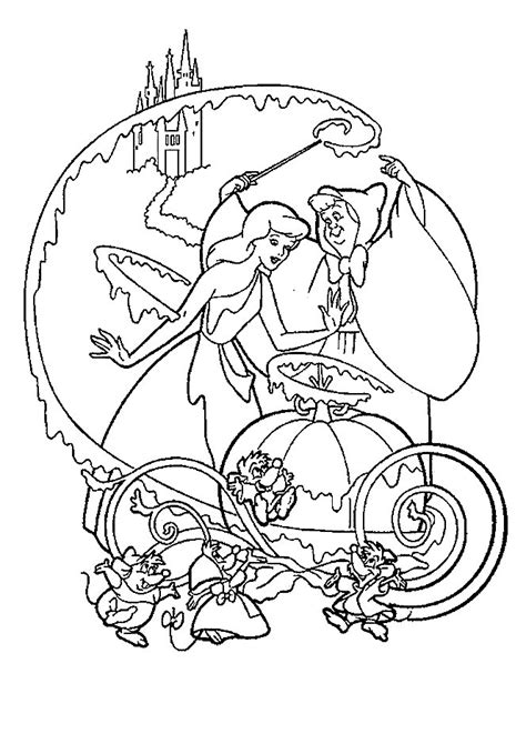 cinderella coloring pages online free games cinderella coloring pages coloringpages1001 com
