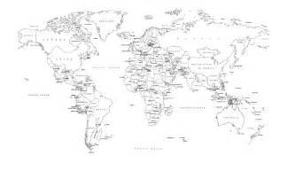 Black And White World Map by Pics Photos Political World Map Black And White Index