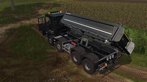 man tgs    meiller kipper  truck farming simulator   mod