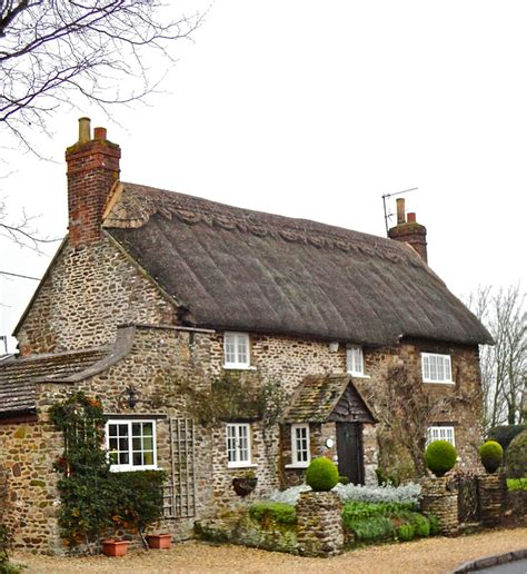 Country Cottages by Where Five Valleys Meet Thatched Country Cottages
