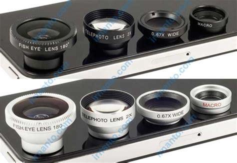Jual Lensa Hp jual lensa hp portabel universal 4 fungsi 1 paket murah