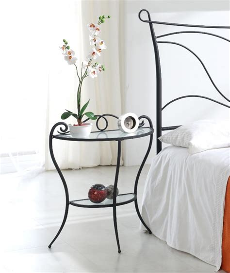 Wrought Iron Bedside Ls Impressive Small Bed Side Table Design Ideas Offer Unique