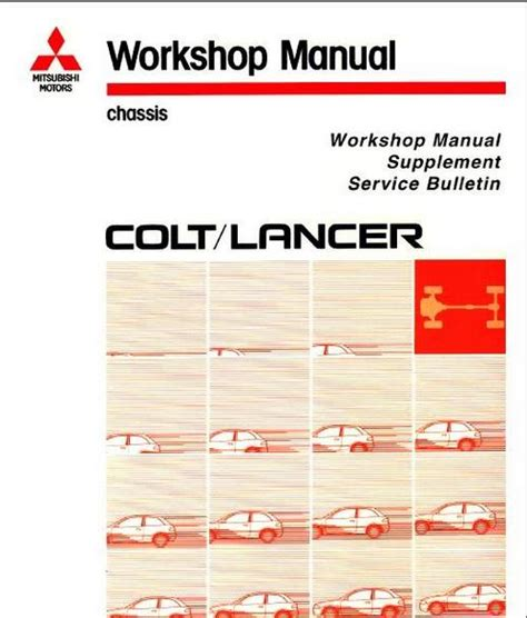 Mitsubishi Ebook Soft Workshop Manual Mitsubishi Colt