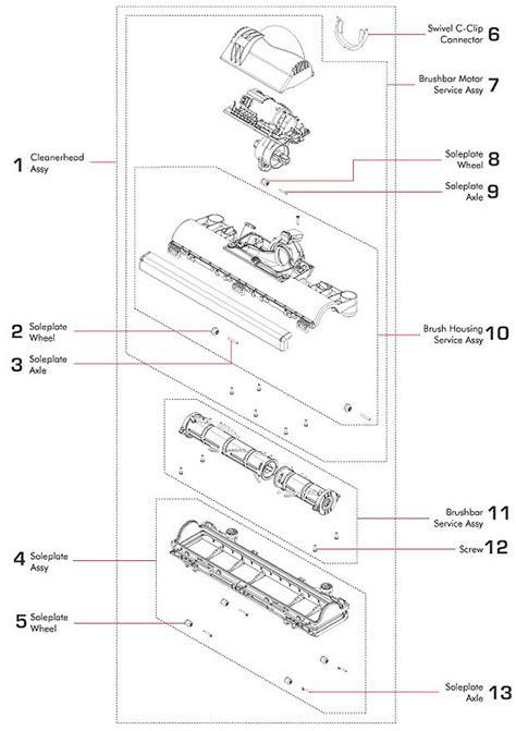 dyson animal parts diagram dyson parts