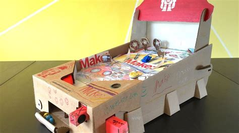 Paper Craft Machine - papercraft pinball machines retro arcade
