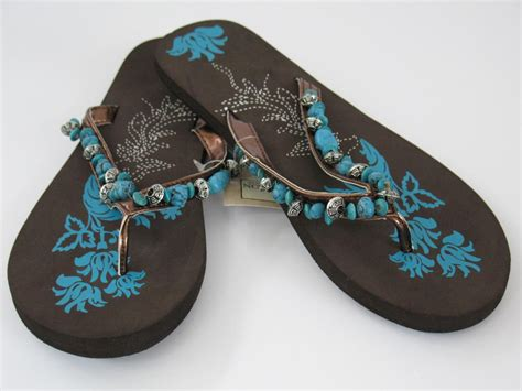 beaded flip flop sandals new beaded flip flop sandals summer pool brown
