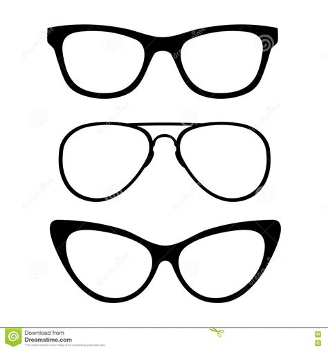 glasses vector sunglasses black and white vector clipart panda free