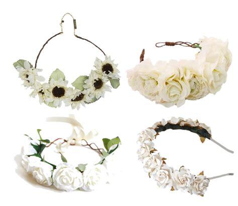Flower Crown Mahkota Bunga Kuncup inspirasi fesyen 3 diy flower crown headband atau