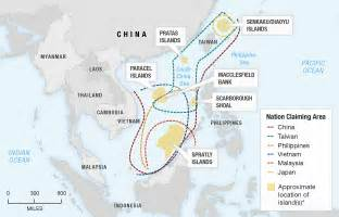 South China Sea Dispute Map by Little Islands Are Big Trouble In The South China Sea Npr